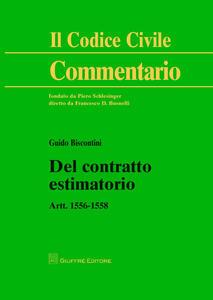Del contratto estimatorio. Artt. 1556-1558