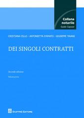 Dei singoli contratti. Vol. 1