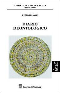 Libro Diario deontologico Remo Danovi