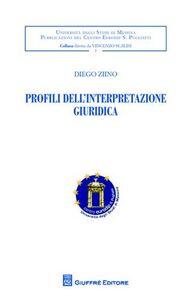Foto Cover di Profili dell'interpretazione giuridica, Libro di Diego Ziino, edito da Giuffrè
