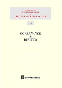 Libro Governance e diritto