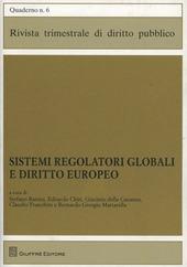 Sistemi regolatori globali e diritto europeo
