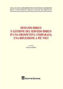 Libro Demanio idrico e gestione del servizio idrico in una prospettiva comparata. Una riflessione a più voci