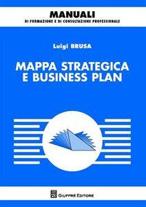 Libro Mappa strategica e business plan Luigi Brusa