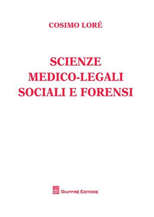 Scienze medico-legali socia...