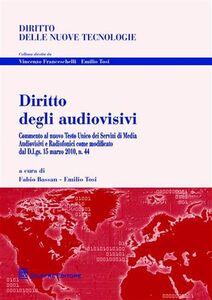 Libro Diritto degli audiovisivi