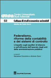 Libro Federalismo, riforme della contabilità e dei sistemi di controllo
