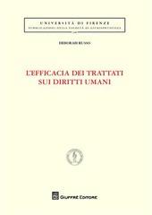 L' efficacia dei trattati sui diritti umani