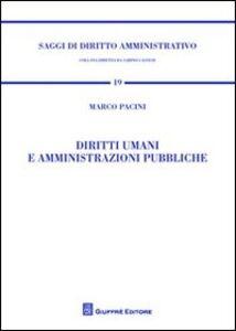 Libro Diritti umani e amministrazioni pubbliche Marco Pacini