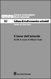 Foto Cover di Il bene dell'azienda. Scritti in onore di Vittorio Coda, Libro di  edito da Giuffrè