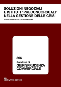 Libro Soluzioni negoziali e istituti preconcorsuali nella gestione delle crisi