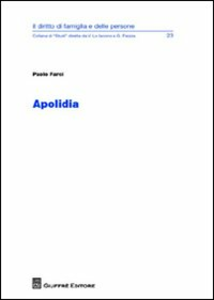 Libro Apolidia Paolo Farci