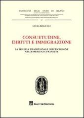 Consuetudine, diritti e immigrazione. La pratica tradizionale dell'escissione nell'esperienza francese