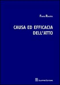 Causa ed efficacia dell'atto
