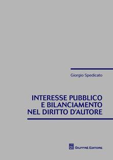 Interesse pubblico e bilanciamento nel diritto dautore.pdf