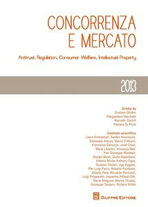 Foto Cover di Concorrenza e mercato. Antitrust, regulation, consumer welfare, intellectual property, Libro di  edito da Giuffrè