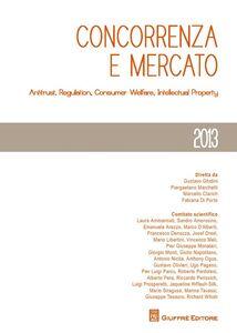 Libro Concorrenza e mercato. Antitrust, regulation, consumer welfare, intellectual property
