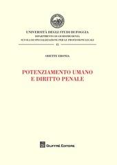 Potenziamento umano e diritto penale