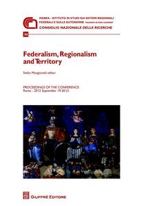 Libro Federalism, regionalism and territory