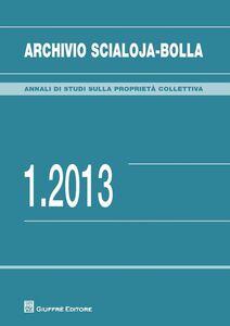 Libro Archivio Scialoja-Bolla (2013). Vol. 1
