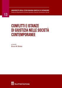 Libro Conflitti e istanze di giustizia nelle società contemporanee