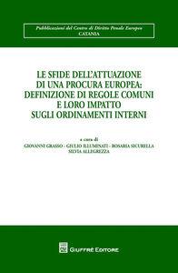 Foto Cover di Le sfide dell'attuazione di una procura europea. Definizione di regole comuni e loro impatto sugli ordinamenti interni, Libro di  edito da Giuffrè