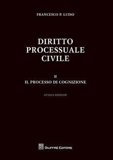 Antondemarirreguera.es Diritto processuale civile. Vol. 2: processo di cognizione, Il. Image