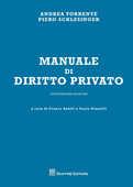 Libro Manuale di diritto privato Andrea Torrente Piero Schlesinger