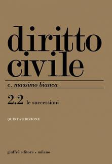 Winniearcher.com Diritto civile. Vol. 2\2: Le successioni. Image
