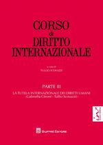 Corso di diritto internazionale. Vol. 3: La tutela internazionale dei diritti umani.