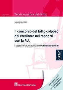 Libro Il concorso del fatto colposo del creditore nei rapporti con la P.A. I casi di responsabilità dell'amministrazione Sandro Castro