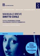 Diritto civile. Manuale breve
