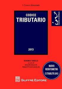 Foto Cover di Codice tributario, Libro di  edito da Giuffrè