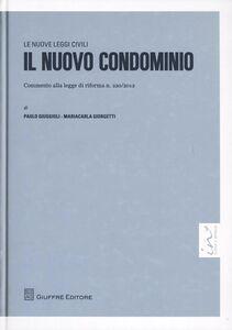 Foto Cover di Il nuovo condominio, Libro di M. Carla Giorgetti,Paolo Giuggioli, edito da Giuffrè