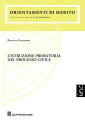 L' istruzione probatoria nel processo civile