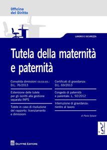 Libro Tutela della maternità e paternità Paola Salazar