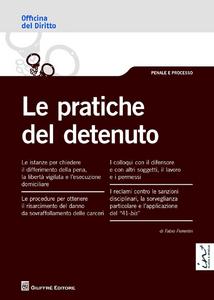 Libro Le pratiche del detenuto Fabio Fiorentin