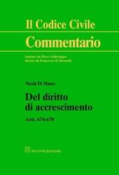 Del diritto di accrescimento. Art. 674-678