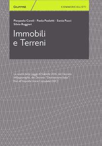 Foto Cover di Immobili e terreni, Libro di  edito da Giuffrè