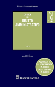 Libro Codice di diritto amministrativo