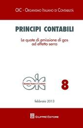 Principi contabili. Le quote di emissione di gas ad effetto serra
