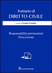 Libro Responsabilità patrimoniale. Prescrizione
