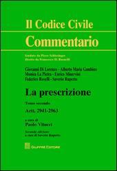 La prescrizione. Vol. 2: Artt. 2941-2963.