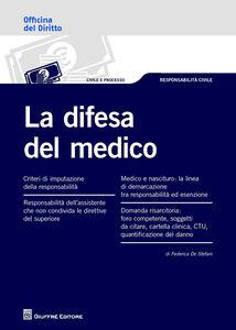 Libro La difesa del medico Federica De Stefani