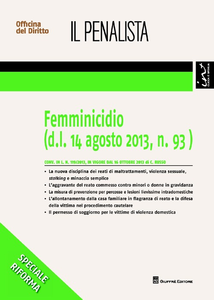 Libro Femminicidio Carmine Russo