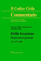 Della locazione. Disposizioni generali. Artt. 1571-1606