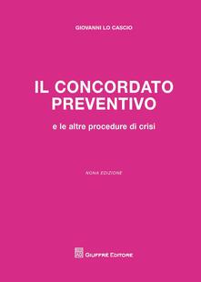Il concordato preventivo - Giovanni Lo Cascio - copertina