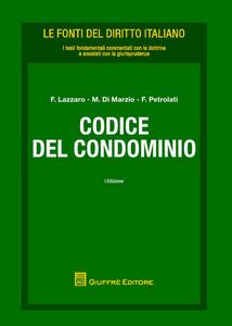 Libro Codice del condominio