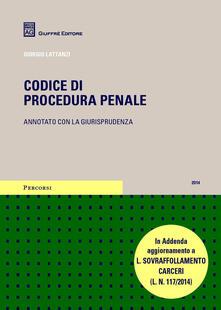 Codice di procedura penale - copertina