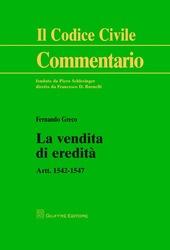 La vendita di eredità. Artt. 1542-1547